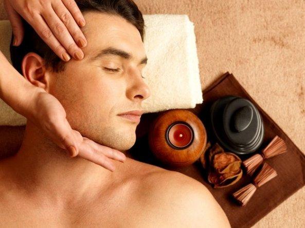 Head, neck, shoulder massage